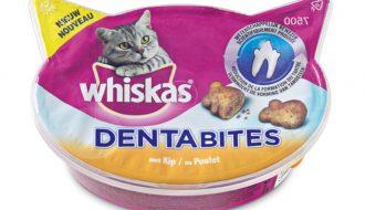 5 stuks! Whiskas Dentabites 40 g