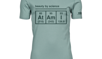Atami Lifestyle T-shirt - Beauty by Science Dusty Green (men) (Maat: M)
