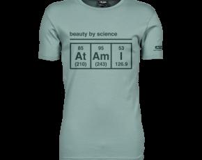 Atami Lifestyle T-shirt - Beauty by Science Dusty Green (men) (Maat: XXXL)