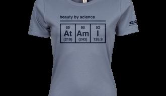 Atami Lifestyle T-shirt - Beauty by Science Flint Stone (women) (Maat: M)