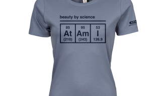 Atami Lifestyle T-shirt - Beauty by Science Flint Stone (women) (Maat: S)