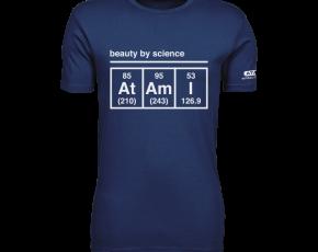 Atami Lifestyle T-shirt - Beauty by Science Indigo (men) (Maat: XXL)