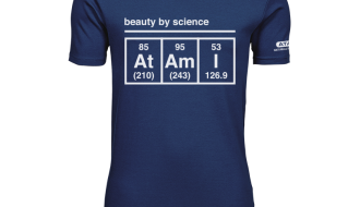 Atami Lifestyle T-shirt - Beauty by Science Indigo (men) (Maat: XXL)