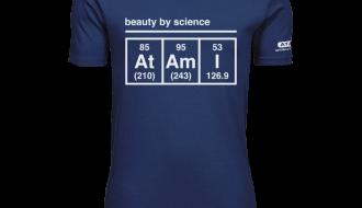 Atami Lifestyle T-shirt - Beauty by Science Indigo (men) (Maat: XXXL)