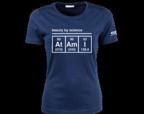 Atami Lifestyle T-shirt - Beauty by Science Indigo (women) (Maat: XXL)