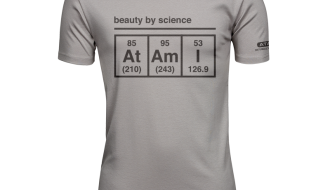 Atami Lifestyle T-shirt - Beauty by Science Stone (men) (Maat: M)