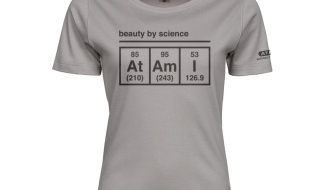Atami Lifestyle T-shirt - Beauty by Science Stone (women) (Maat: L)