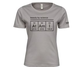 Atami Lifestyle T-shirt - Beauty by Science Stone (women) (Maat: XXL)