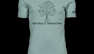 Atami Lifestyle T-shirt - Naturally Innovating Dusty Green (men) (Maat: M)