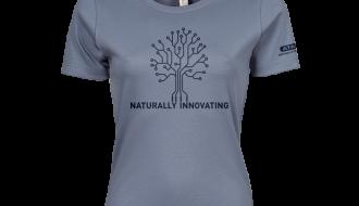 Atami Lifestyle T-shirt - Naturally Innovating Flint Stone (women) (Maat: M)