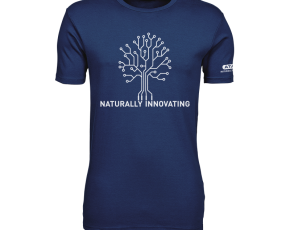 Atami Lifestyle T-shirt - Naturally Innovating Indigo (men) (Maat: L)
