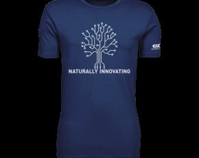 Atami Lifestyle T-shirt - Naturally Innovating Indigo (men) (Maat: XL)