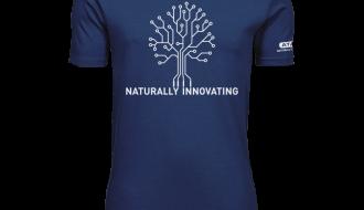 Atami Lifestyle T-shirt - Naturally Innovating Indigo (men) (Maat: XXL)
