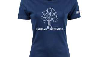 Atami Lifestyle T-shirt - Naturally Innovating Indigo (women) (Maat: S)
