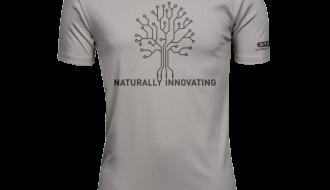 Atami Lifestyle T-shirt - Naturally Innovating Stone (men) (Maat: XXL)