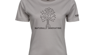 Atami Lifestyle T-shirt - Naturally Innovating Stone (women) (Maat: XL)