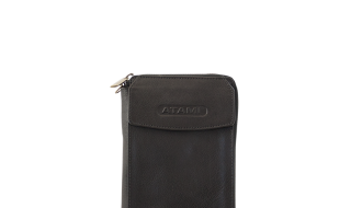 Atami Travel Wallet (Kleur: Kastanje)