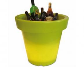 Bloempot Met Licht : Bloom pot bloempot met licht lime ø 110 cm