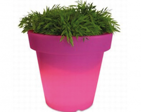Bloempot Met Licht : Bloom pot bloempot met licht rose ø 110 cm