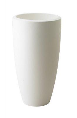 Elho Pure Soft Round High Plantenbak 30 cm - Wit