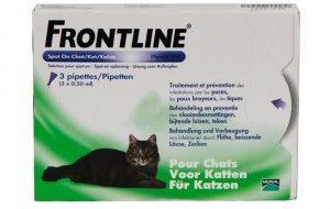 Frontline Kat 4 pipetten 3 pipetten