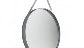 hay strap spiegel 70 cm. Black Bedroom Furniture Sets. Home Design Ideas