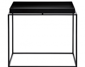 hay tafel tray table tafel 60x60 cm zwart. Black Bedroom Furniture Sets. Home Design Ideas