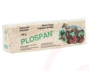 Klein Pakje Houtvezel (plospan) bodembedekking Per verpakking