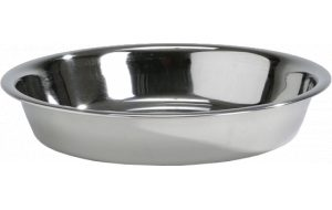 Rvs puppy eet of drinkbakje - 15.5 cm