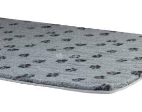 Vetbed met voetprint voor in benches - 121 x 78 cm