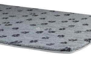 Vetbed met voetprint voor in benches - 78 x 55 cm