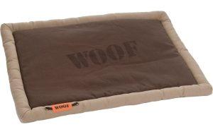 Woof canvas benchkussen - 49 x 36 x 3.5 cm