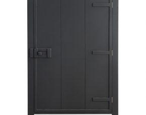 Hk Living Kast : Hk living kast met enkele deur houtskool