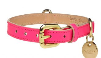 Dogatella Dogatella Glow Halsband pink