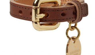 Dogatella Dogatella Klassieke Armband donkerbruin