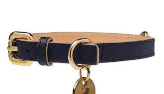 Dogatella Dogatella Klassieke Halsband navy
