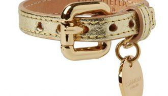 Dogatella Dogatella Metallic Armband gold