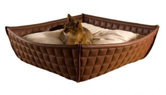 Pet Interiors Pet-Interiors Bowl Kunstlederen Kattenmand