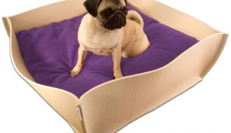 Pet Interiors Pet-Interiors Bowl Vilt Hondenmand