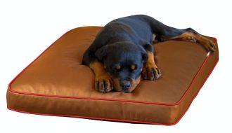 Pet Interiors Pet-Interiors Lounge Eddy Kunstlederen Hondenkussen