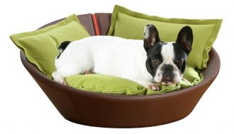 Pet Interiors Pet-Interiors Mila Kunstlederen Hondenmand