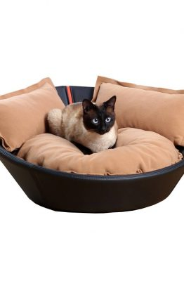 Pet Interiors Pet-Interiors Mila Leer Kattenmand