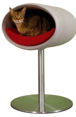 Pet Interiors Pet-Interiors Rondo Vilt Kattenstandaard