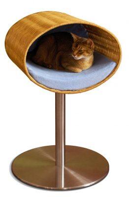 Pet Interiors Pet-Interiors Rondo Wicker Kattenstandaard