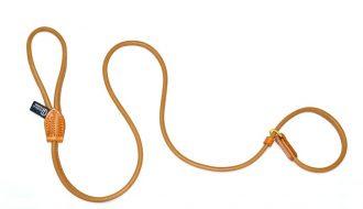 Dogs & Horses Dogs & Horses Halsband én hondenriem in één bruin