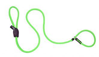 Dogs & Horses Dogs & Horses Halsband én hondenriem in één groen