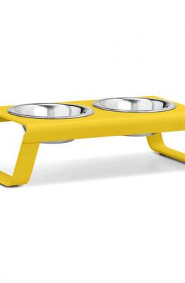 MiaCara MiaCara Desco Hondenvoerbak geel
