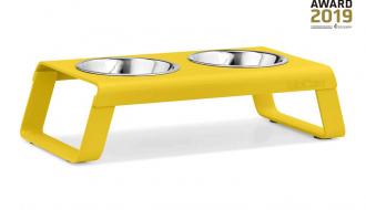 MiaCara MiaCara Desco Kattenvoerbak geel