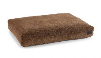 MiaCara MiaCara Sherpa Hondenkussenhoes bruin